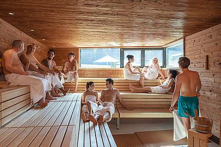 Kennenlernen in der sauna